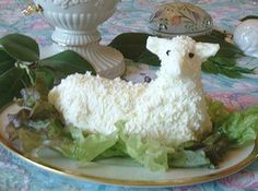 Woolly Butter Lamb says its a tradition for Polish famlies to serve on Easter
