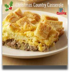 Country Christmas Breakfast Casserole