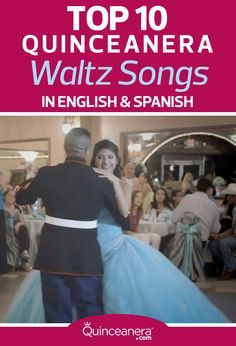 Don't know which songs to play for your quinceanera waltz? Here are our favorite picks! You might want to have a box of tissues beside you because some of these will melt your heart. - See more at: http://www.quinceanera.com/your-music/top-10-quinceanera-waltz-songs/?utm_source=pinterest&utm_medium=social&utm_campaign=your-music-top-10-quinceanera-waltz-songs#sthash.C3ZXdIIk.dpuf