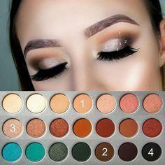 "Jaclyn Hill x Morphe Palette Makeup Looks , Tutorial Marie Appelt (@marieappelt) auf Instagram: ""Another one @morphebrushes x @jaclynhill palette . @anastasiabeverlyhills dipbrow in chocolate .…"" pictorial, step by step, beginners , paso a paso , schritt für schritt, anfänger #eyemakeupstepbystep"