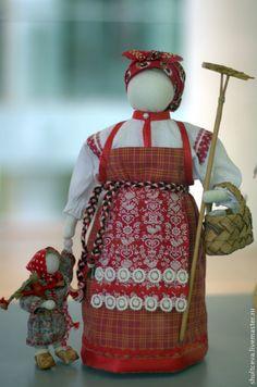 """Купить Коллекционная кукла """"Лето.Страда"""" - интерьерная кукла, коллекционная кукла, русский стиль"""