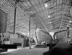 Construction of 78 foot PT boats at Higgins Industries, New Orleans, Louisiana (USA), 1942.