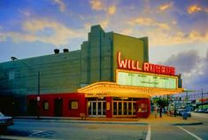 Will Rogers movie theater, Chicago - I saw many Disney movies here when they were periodically re-released into theaters. We couldn't just watch them at home.