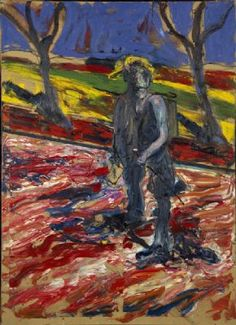 "Francis Bacon ""Study for a Portrait of Van Gogh III"""