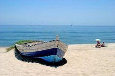 beautiful old row boat