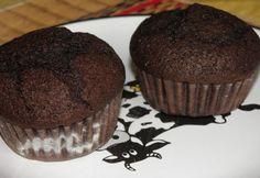 Szilvalekváros-kakaós-fahéjas muffin