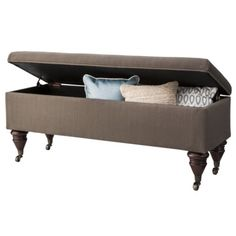Threshold™ End of Bed Bench with Casters