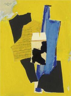Yellow Music - Robert Motherwell