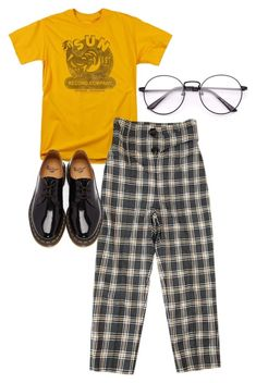 """Untitled #31"" by olivia335 on Polyvore featuring Dr. Martens"