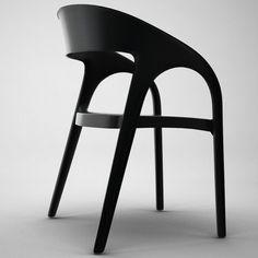 3D Model Gossip Chair - 3D Model