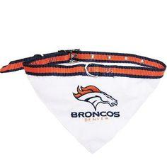 Denver Broncos Bandana Small