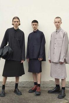 Jil Sander Spring 2019 Menswear Fashion Show Collection: See the complete Jil Sander Spring 2019 Menswear collection. Look 7