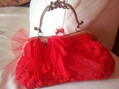 my handmade Luxury RED bag