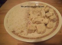 Recette - Escalopes de poulet à la crème au Companion | 750g