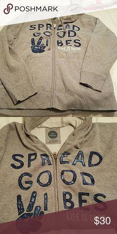 Life is Good hoodie, mens XL Never worn, NWOT. Life is Good Jackets & Coats