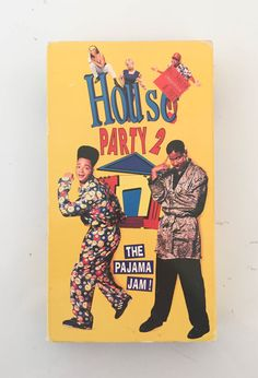 House Party 2 The Pajama Jam VHS 1992 Staring KID by HOUSEOFURCHIN