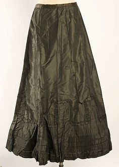 17bfbf0d29 Underskirt Date  1890–1908 Culture  American or European Medium  silk 1900s  Fashion