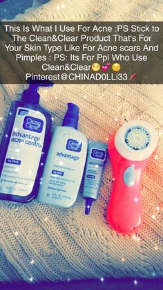 This Is My Product So I Didn't Steal This One ✌oh Ppl The Facial Brush I Have Is Clarisonic Mia 1 http://beautifulclearskin.net/category/no-more-acne/