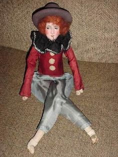 German Smoker Boudoir Doll