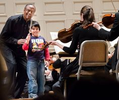 Boston Symphony Orchestra  Family Day, March 9, 2013. $20 adults, free for under 18
