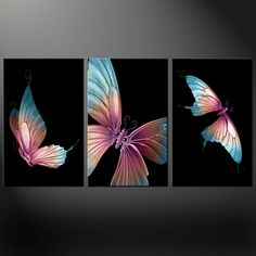 Painting ideas on canvas abstract how to Ideas Abstract Canvas, Canvas Art, Canvas Prints, Art Prints, Butterfly Drawing, Butterfly Painting, Blue Butterfly, Fabric Painting, Painting & Drawing