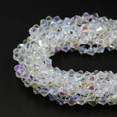 2mm AAA Bicone Beads 195pcs/lot  Crystal Glass Beads Supplier Small Mixed Color Beads DIY Jewelry Faceted Glass Crystal Spacer -- Click the VISIT button for detailed description