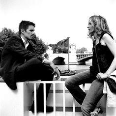 Ethan Hawke & Julie Delpy
