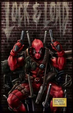 Cool Deadpool wallpaper!
