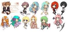 Just random Chibis I don't know but awesome!