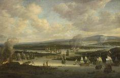 The burning of the English fleet near Chatham, June 1667