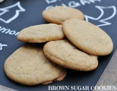 Brown Sugar Cookies recipe }