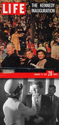 The inauguration of John F. Kennedy as the 35th President of the United States was held on Friday, January 20, 1961.