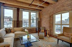 Seattle loft..give this to me now!