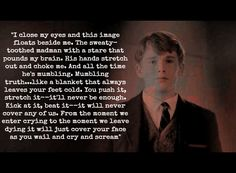"""""""I close my eyes and an image floats beside me…"""" -Dead Poets Society"""