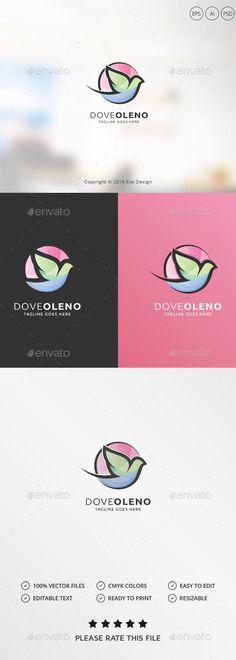 Dove Logo - Animals Logo Templates