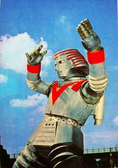 "Johnny Sokko and His Flying Robot. Simply called; ""Giant Robo"" in Japan."
