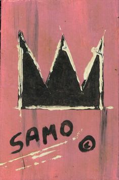 "Jean-Michele Basquiat NYC Street Art Postcard Painting ""SAMO CROWN"" #NeoExpressionismStreetArt Neo Expressionism, Print Ideas, Warhol, Cool Artwork, Online Art, Sculpture Art, Dorm, Contemporary Art, Mickey Mouse"