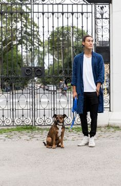 Meet Ace | Dylan Wu, Sorry Coffee Co. Shop Director, Toronto, ON wearing the Revere Cargo. | Kit and Ace