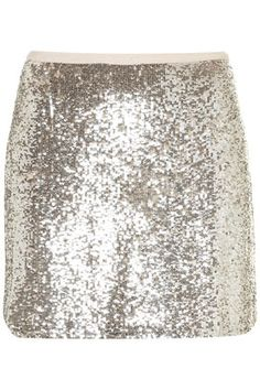 a little sparkle #topshop~ with a simple white tee