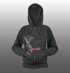 Cat Out'a Hell Hoody - Speed and Strength