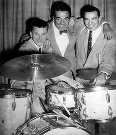 Barrett Deems, Gene Krupa and Buddy Rich