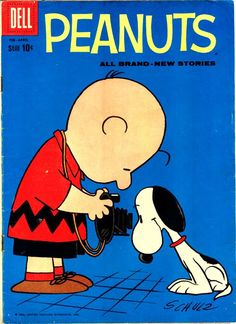 Charlie Brown and Snoopy in Peanuts #iLuv #iLuvsnoopy