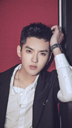 Kris Wu - Never Gone photoshoot mobile wallpapers (no watermark cr: 煎蛋的喜日) Kris Wu, Beautiful Person, Beautiful Men, Beautiful People, Rapper, Exo Album, Korean Boy, Wu Yi Fan, Fandom