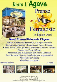 Pranzo di Ferragosto http://www.ristoranteagave.com/eventileggi/145/ #ferragosto   #ristorante   #Messina