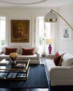 decoración, Sabine Marchal // just love this space. Clean and yet cozy