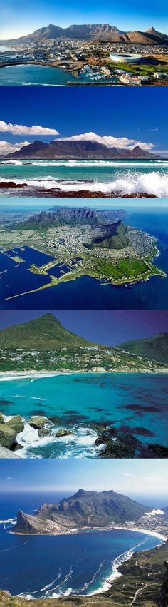 Cape Town in all its glory and only one hour from Cape Town and La Clé des Montagnes luxurious villas on a working wine farm Zimbabwe, Places To Travel, Places To See, Le Cap, Cape Town South Africa, Travel Planner, Africa Travel, Beautiful Places, Scenery