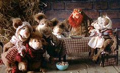 """The Mouse Family from """"The Muppet Christmas Carol"""" ~ """"Please, sir, I want some cheese!"""""""