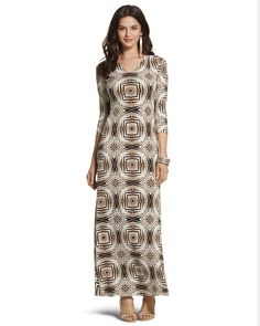 Chico's Women's Kaleidoscope Maxi Dress