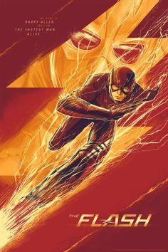The Flash Poster - Cesar Moreno