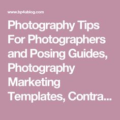 Forms & Online Contracts | PhotoBiz | photography & business ...